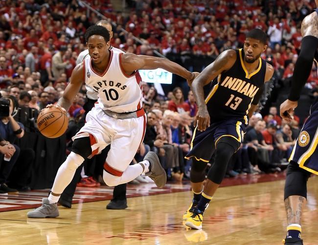DeRozan, Raptors shoot past Pacers in Game 7