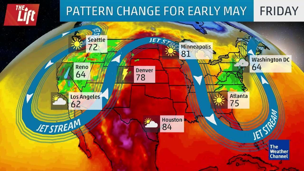 Omega Pattern to Bring Major Change Across US