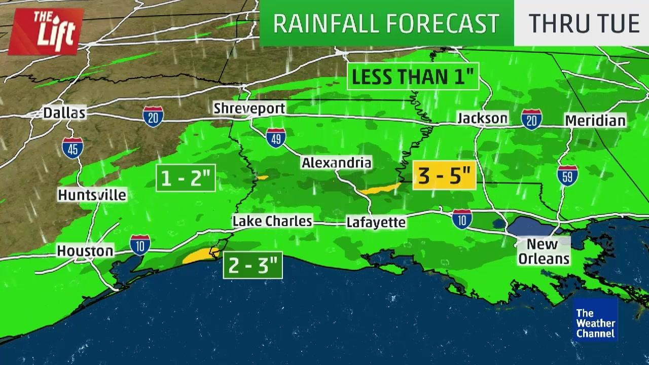 Flooding Wreaks Havoc Across Louisiana and Texas