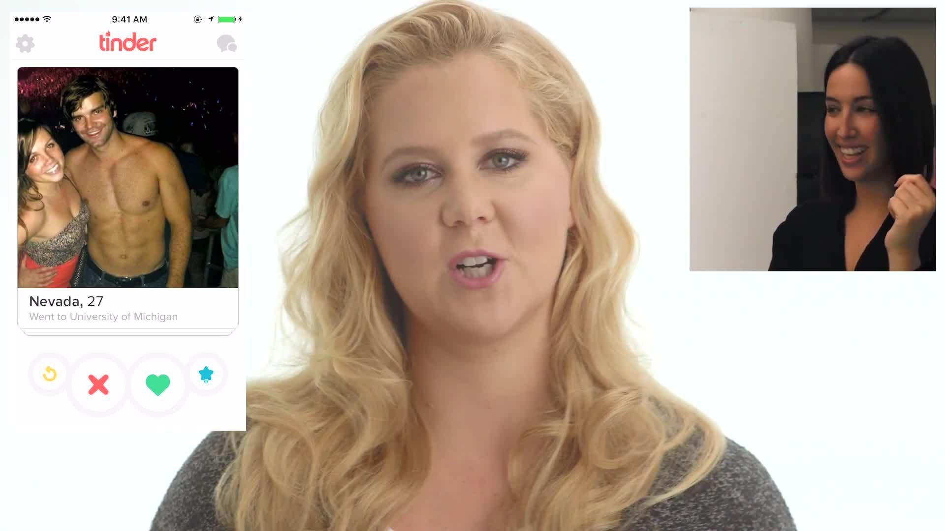 Amy Schumer on Tinder