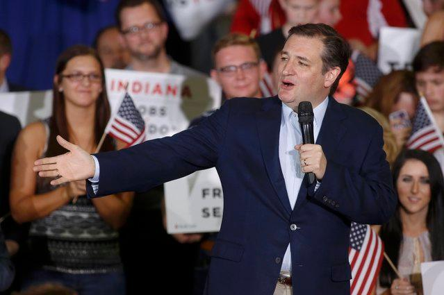Cruz Vows to 'Go the Distance' Ahead of Crucial Indiana Primary