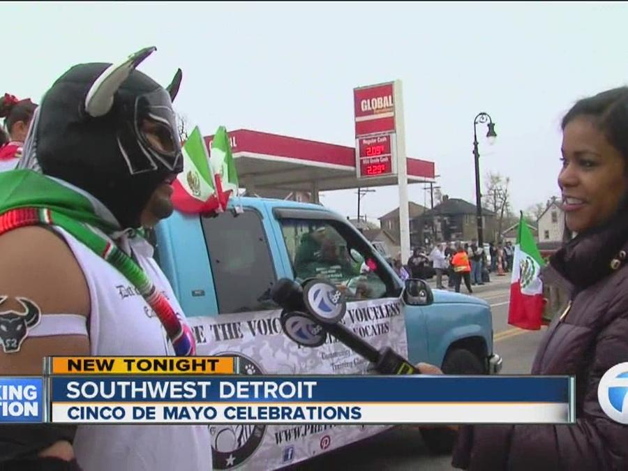 Cinco de Mayo parade in Detroit