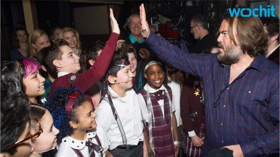 Jack Black Is Blown Away By Broadway's 'School Of Rock'
