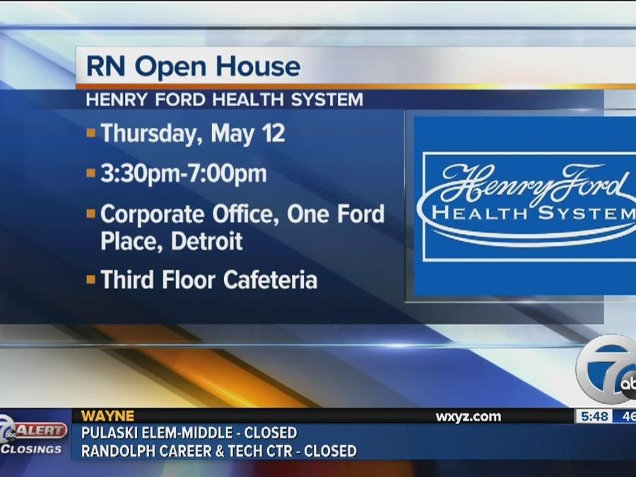 Workers Wanted: RN open house