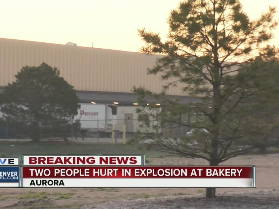 2 injured in explosion at bakery in Aurora