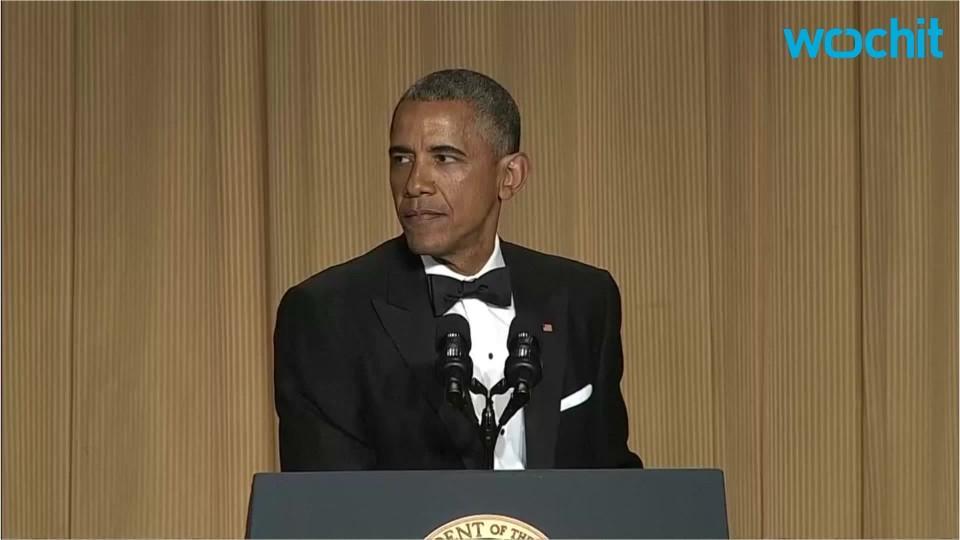 Obama's Last Correspondent's Dinner
