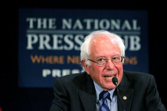 Sanders promises a contested democratic convention