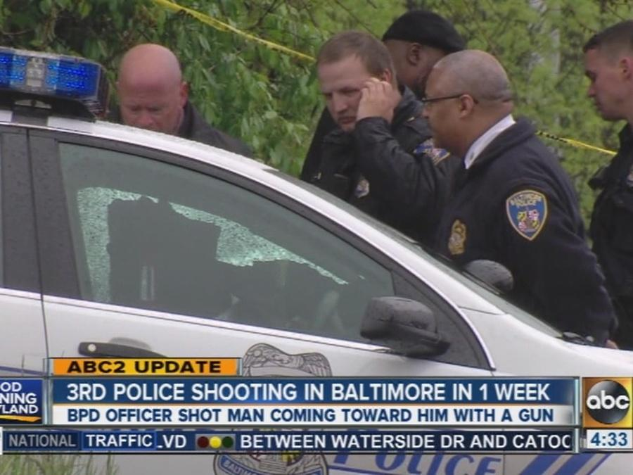 Police investigating officer-involved shooting in northwest Baltimore