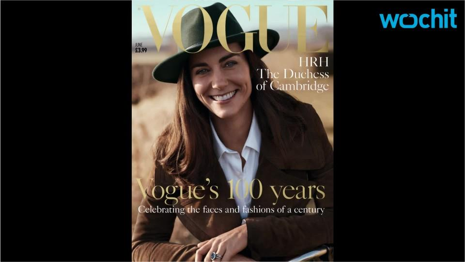 Duchess Kate Covers the British Edition of Vogue to Mark Its 100th Anniversary