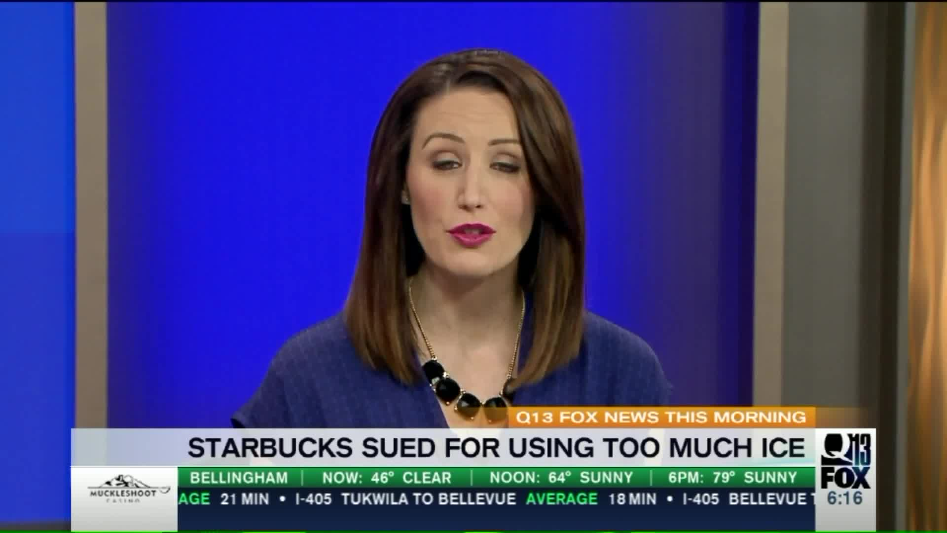 Lawsuit Claims Starbucks' Iced Drinks Have Too Much Ice