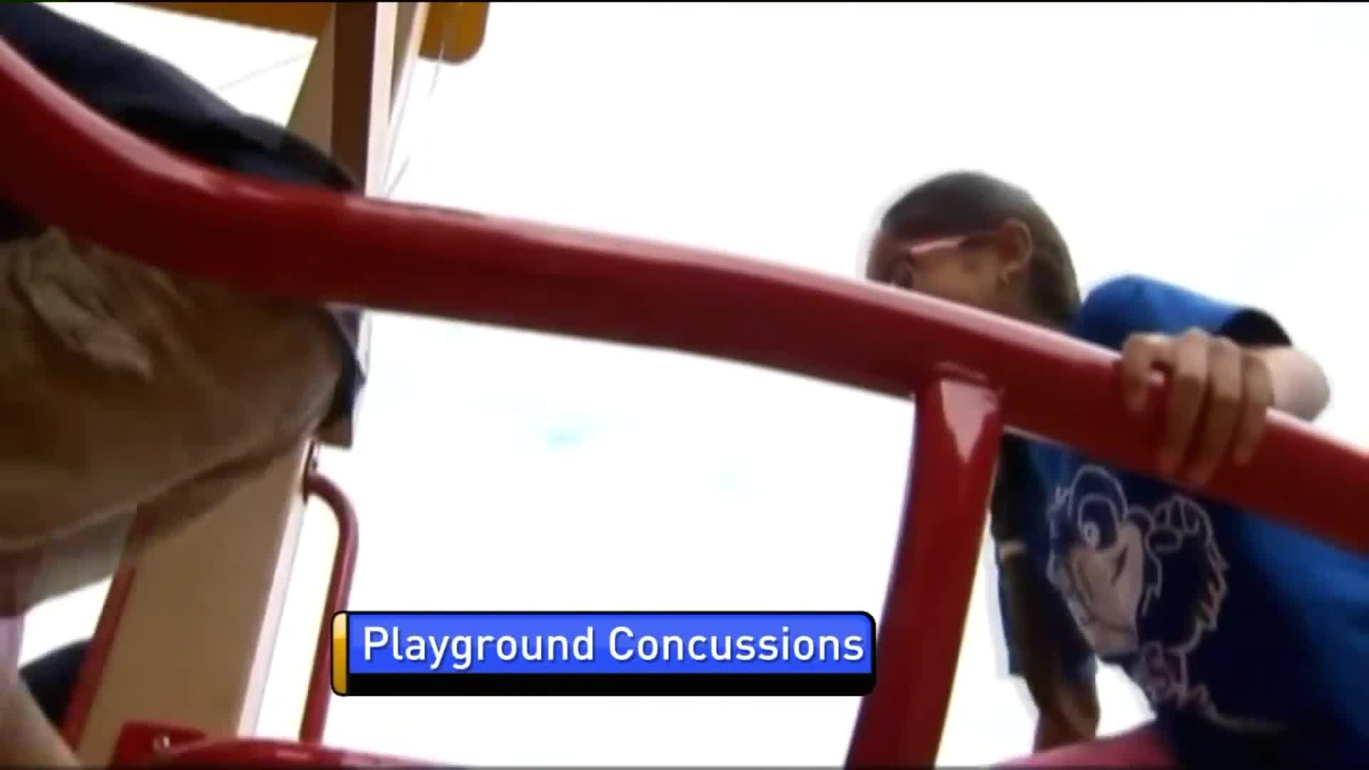 New Study Shows Playground Concussions are on the Rise