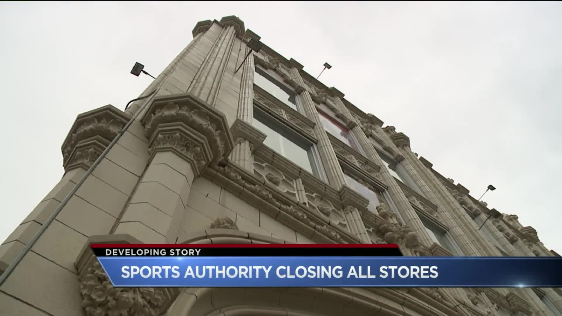 Sports Authority to Close 140 Stores