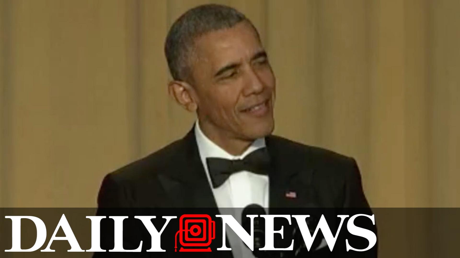 Obama highlights from White House Correspondents Dinner