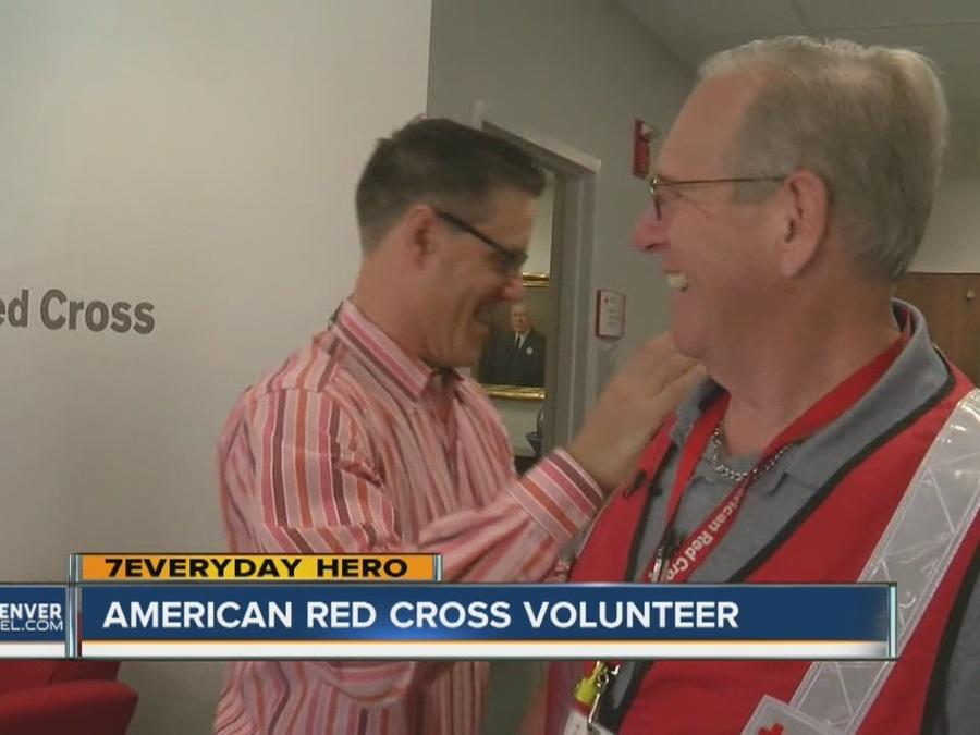 7Everyday Hero Guy Forti is a Red Cross volunteer