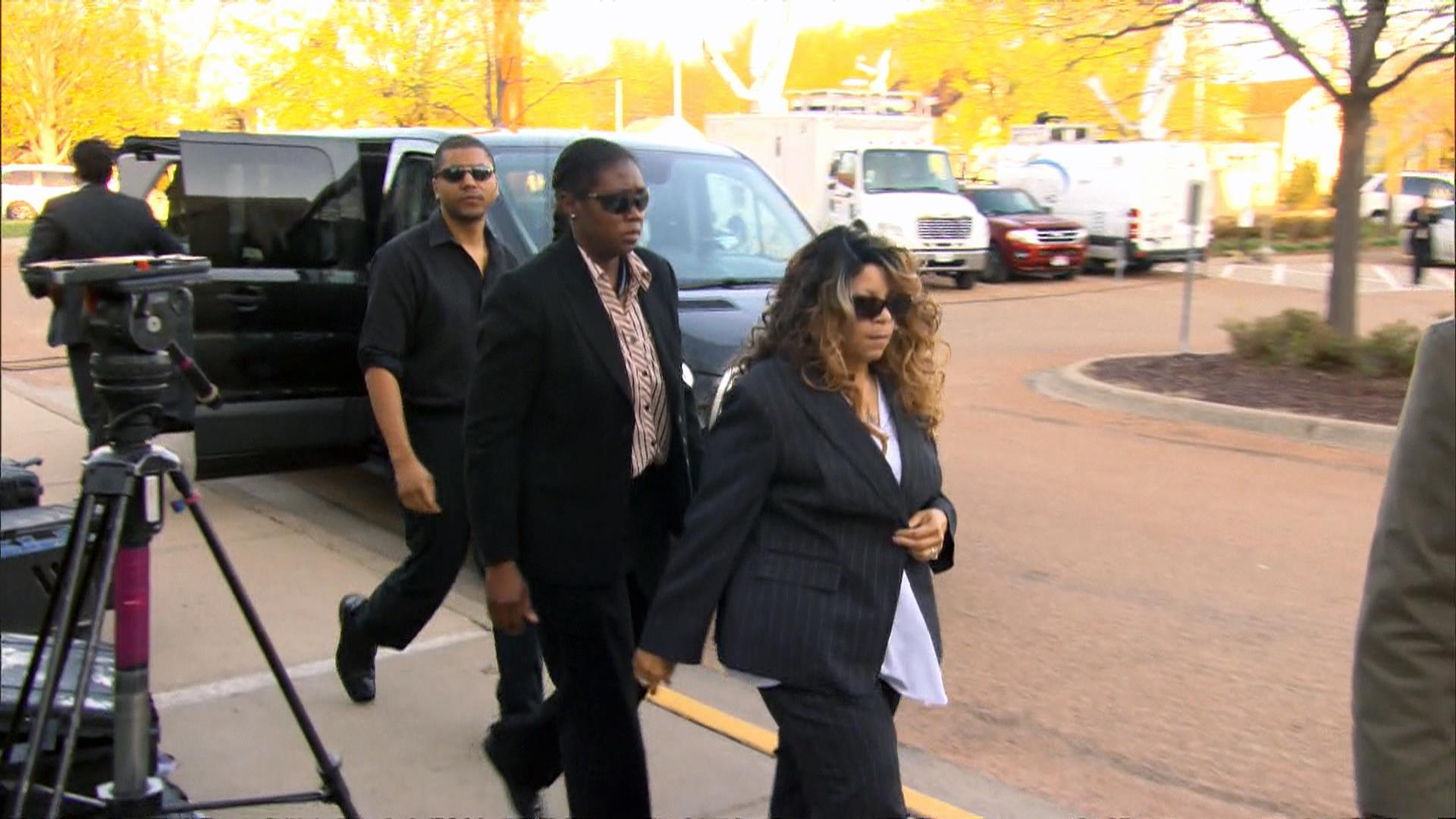 Prince's Family Surrounded by Media as They Enter Court