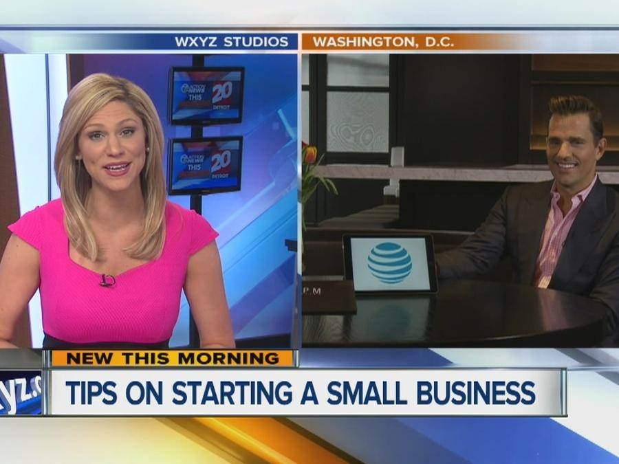Bill Rancic tips on starting a small business