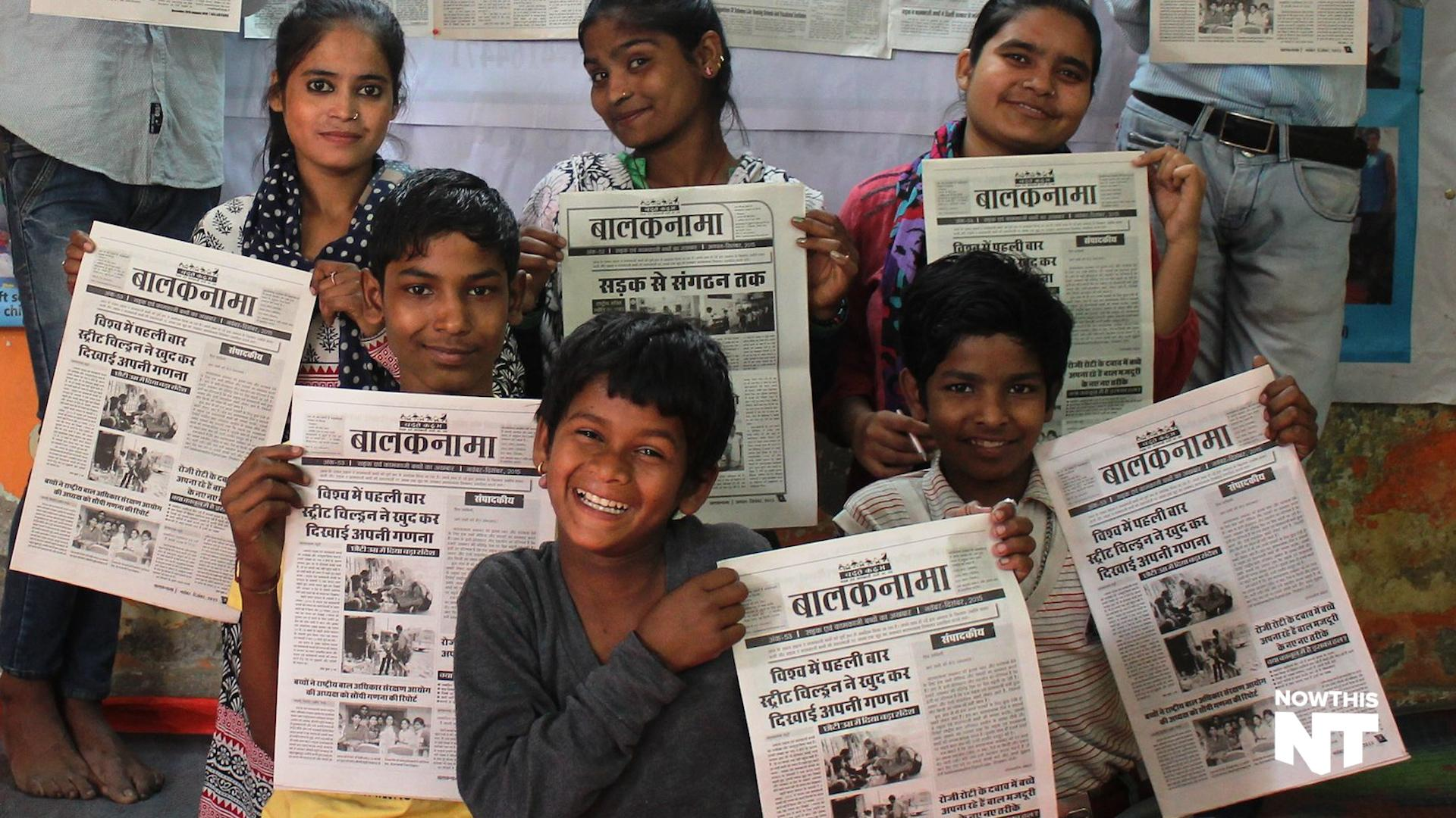The Newspaper Run By Street Children In India