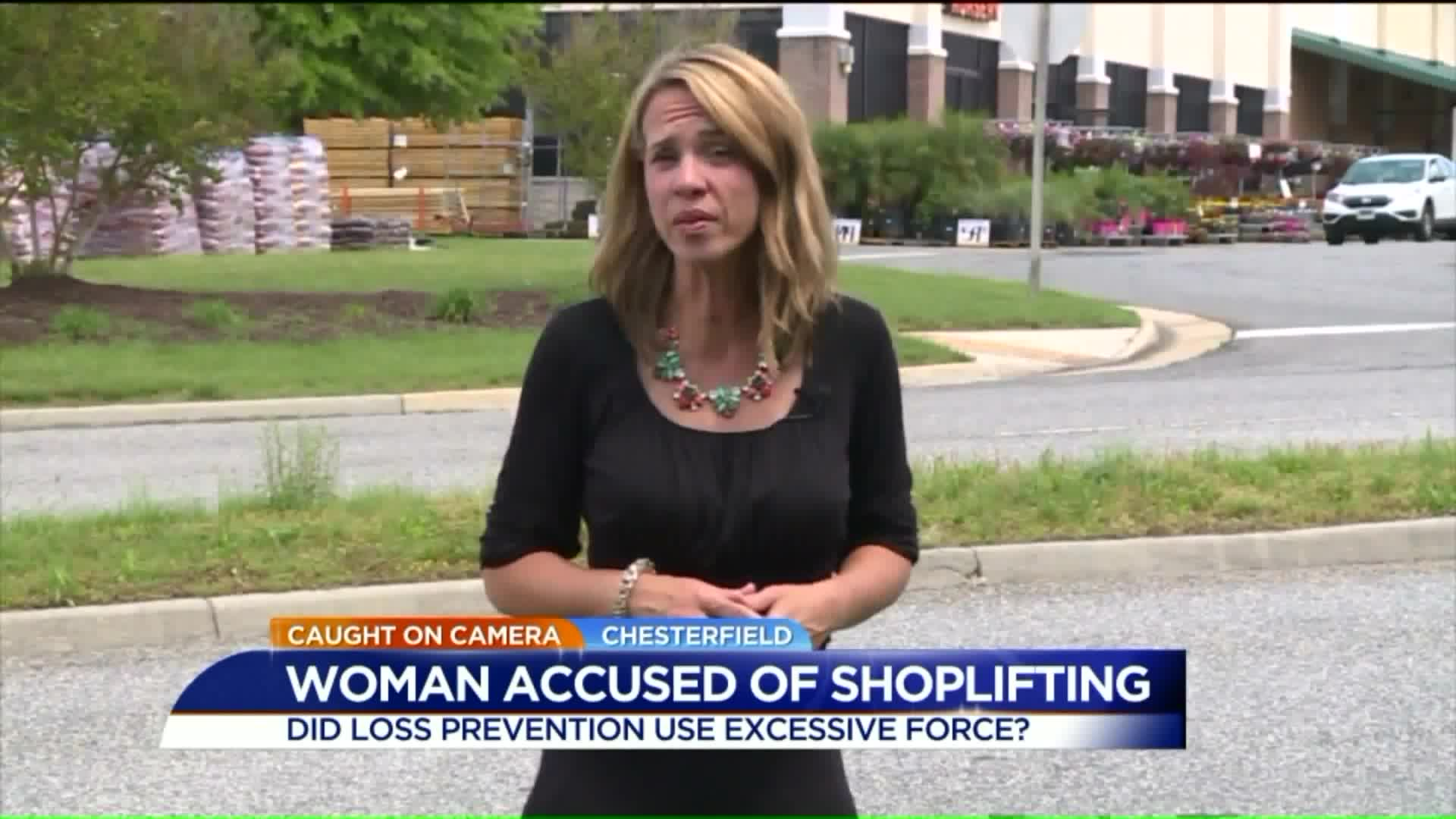 Woman Accused of Shoplifting Claims Excessive Force By Home Depot Loss Prevention