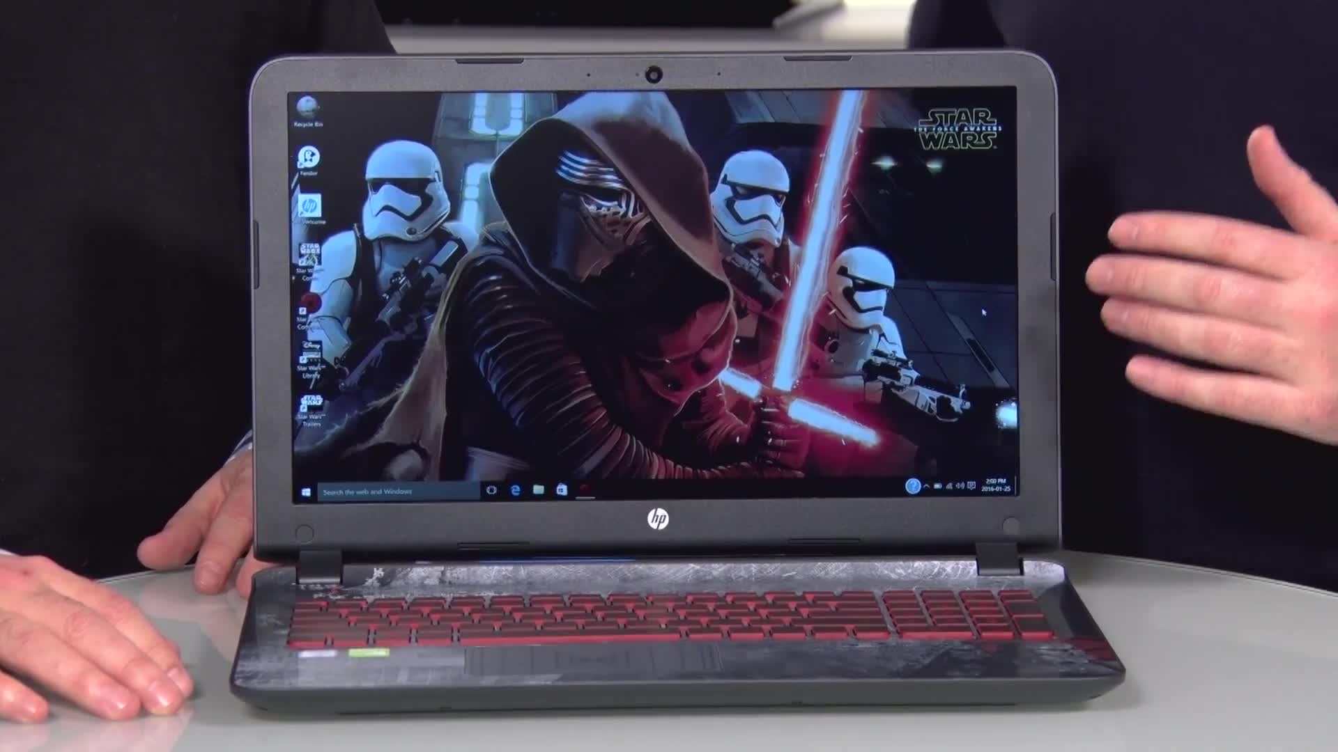 Dream come true! HP Star Wars Special Edition Laptop