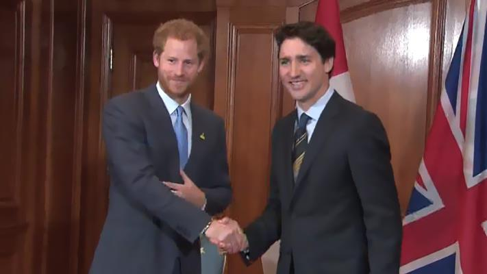 Prince Harry In Toronto For Invictus
