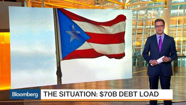 QuickTake: Puerto Rico's $70 Billion Debt Load