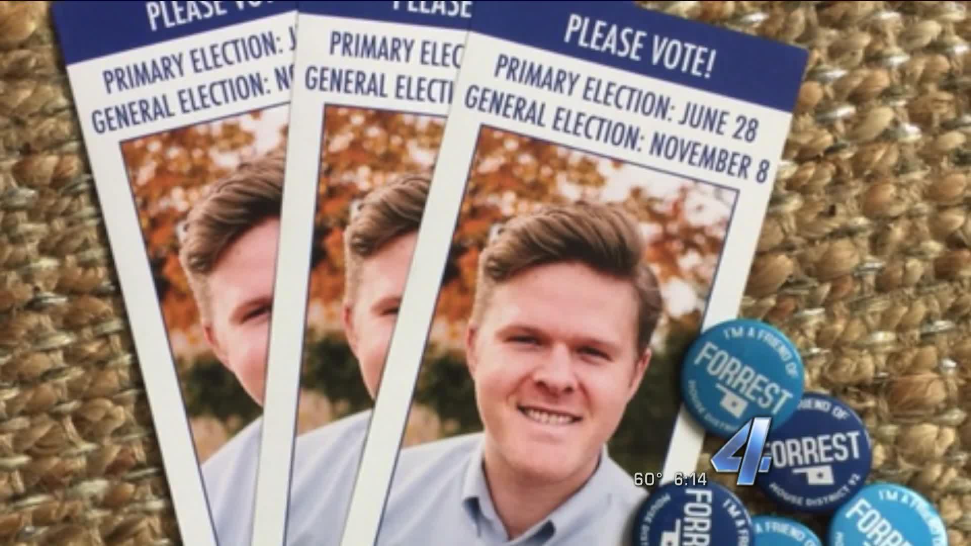 Oklahoma Candidate's Car Stolen Campaigning Door-To-Door