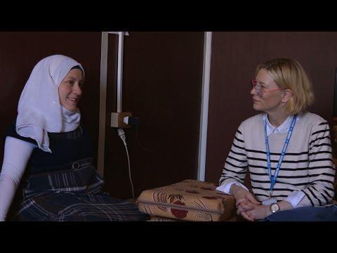 Cate Blanchett Appointed UNHCR Goodwill Ambassador