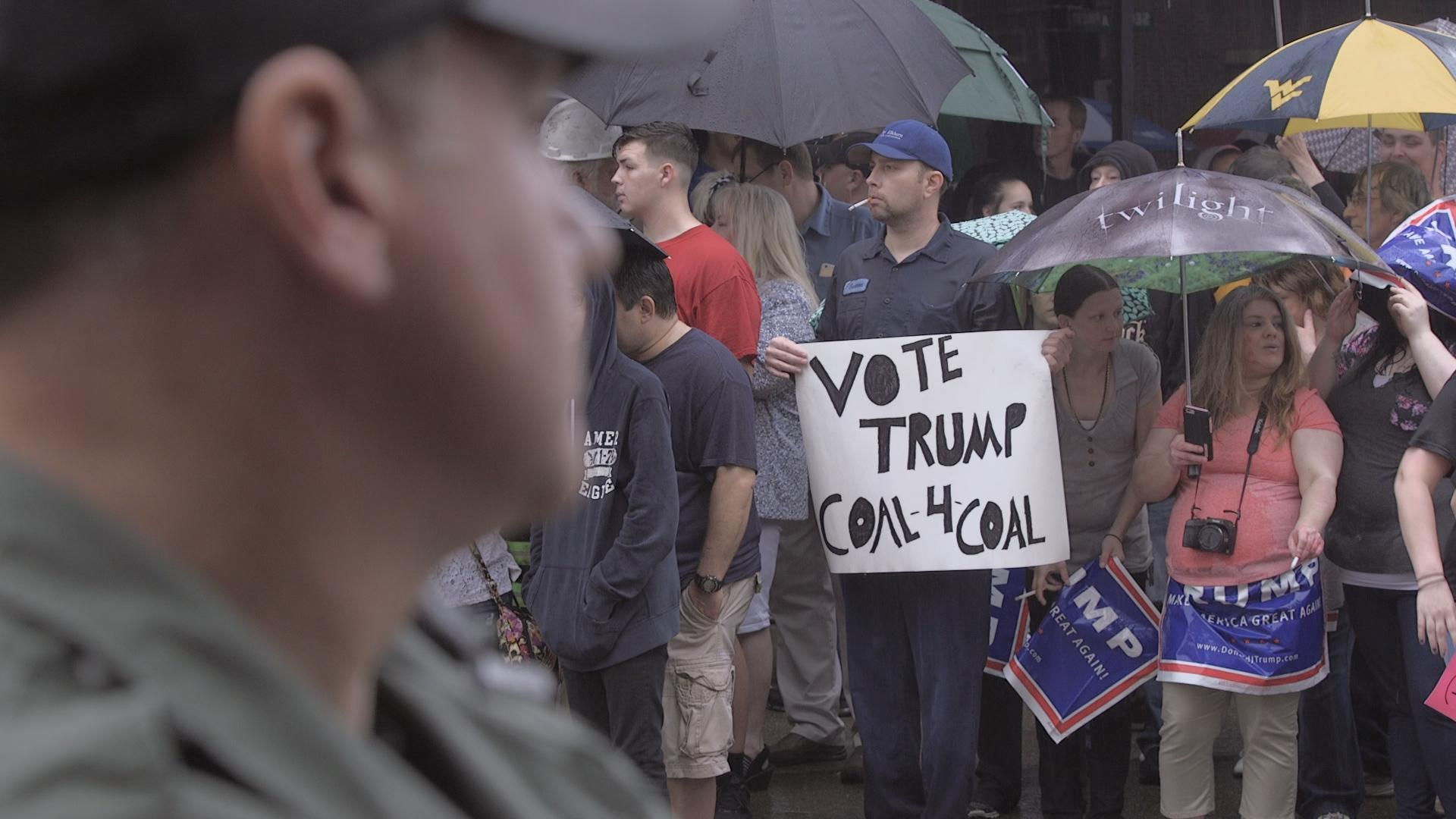 Anger greets Hillary Clinton in West Virginia's coal country