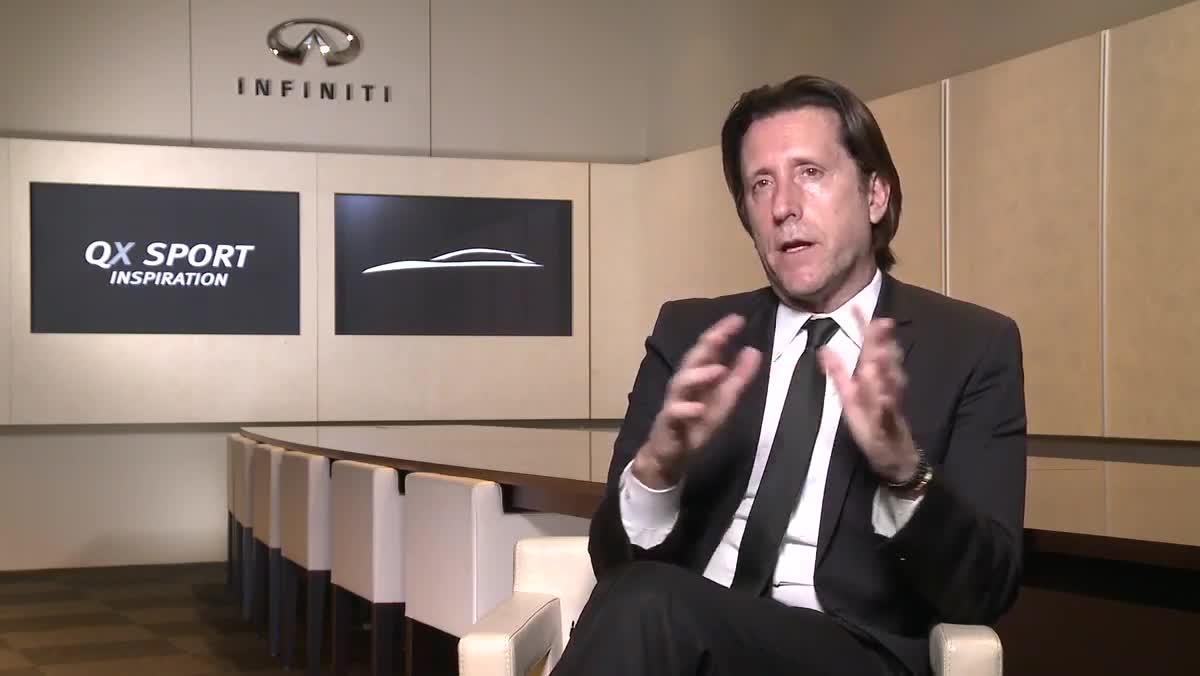 Infiniti QX Sport Inspiration - Interview Alfonso Albaisa