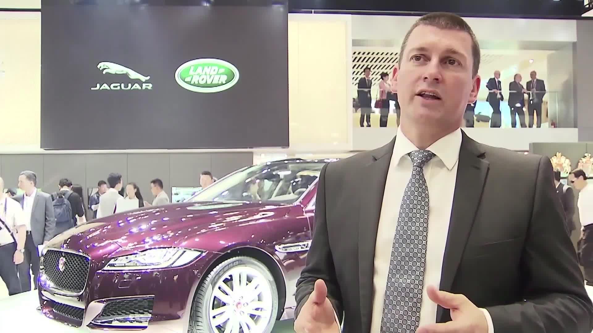 Interview with Murray Dietsch President Chery Jaguar Land Rover, 2016 Beijing Auto Show