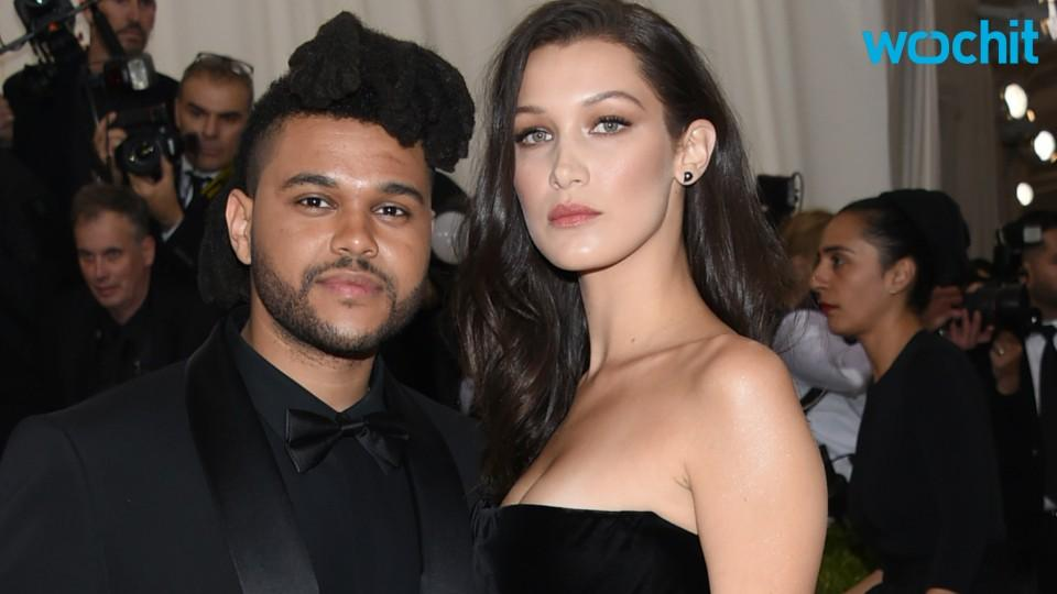 Bella Hadid and The Weeknd Are Matchy Matchy