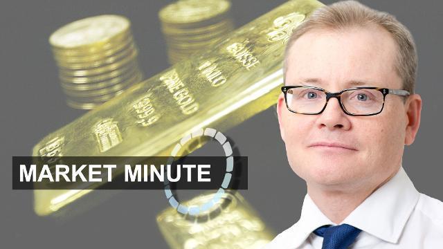 Market Minute ‑ glittering gold, surging yen