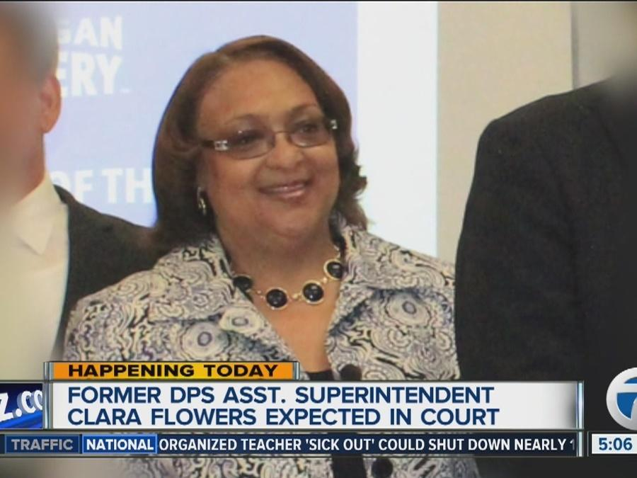 Former DPS assistant superintendent Clara Flowers expected in court