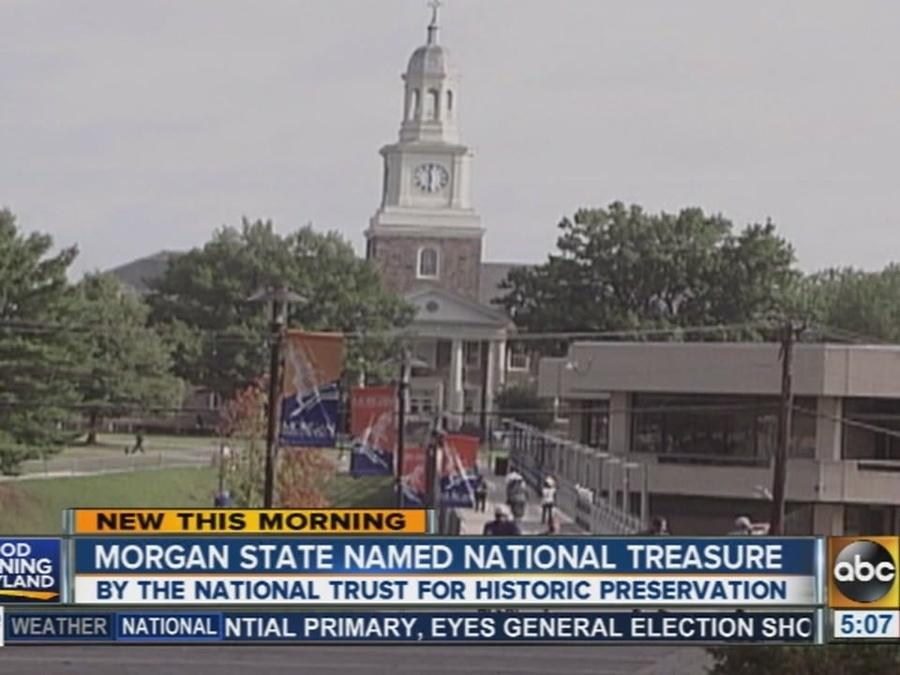 Morgan State University named national treasure