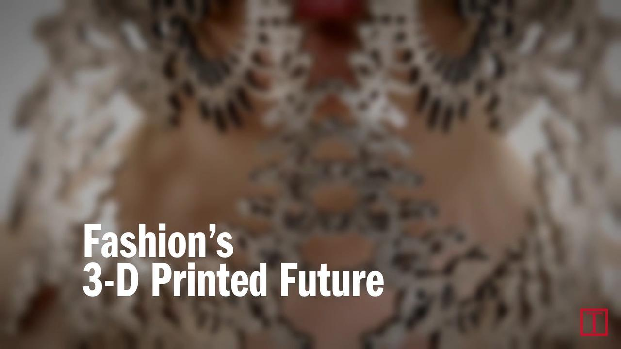 Fashion's 3D-Printed Future