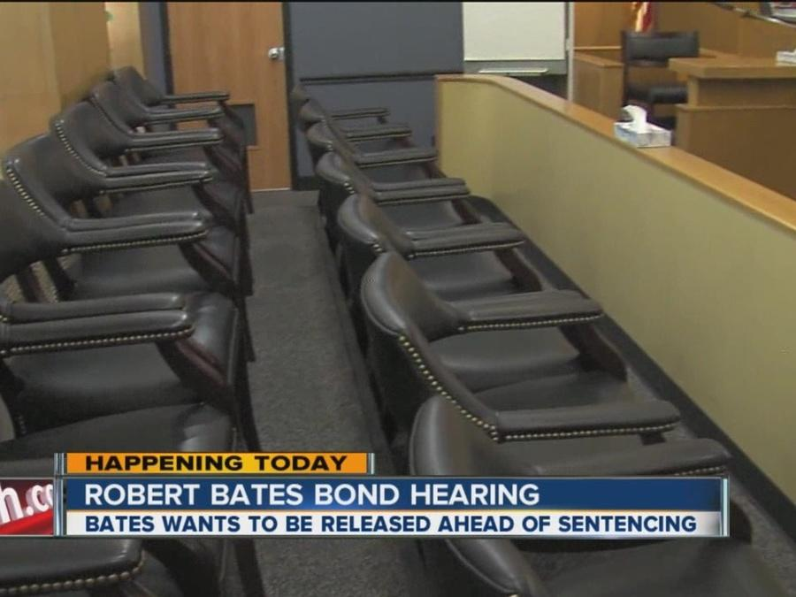 Bates back in court for bond hearing