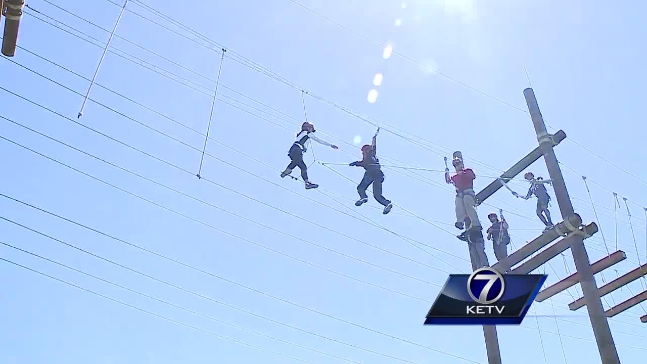 Teens reach new heights of confidence at Outward Bound program