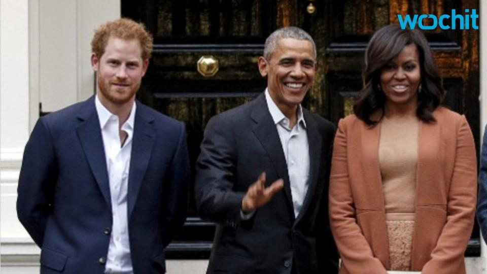 Prince Harry Convinces Grandmother and the Obamas to Promote The Invictus Games in a New Video