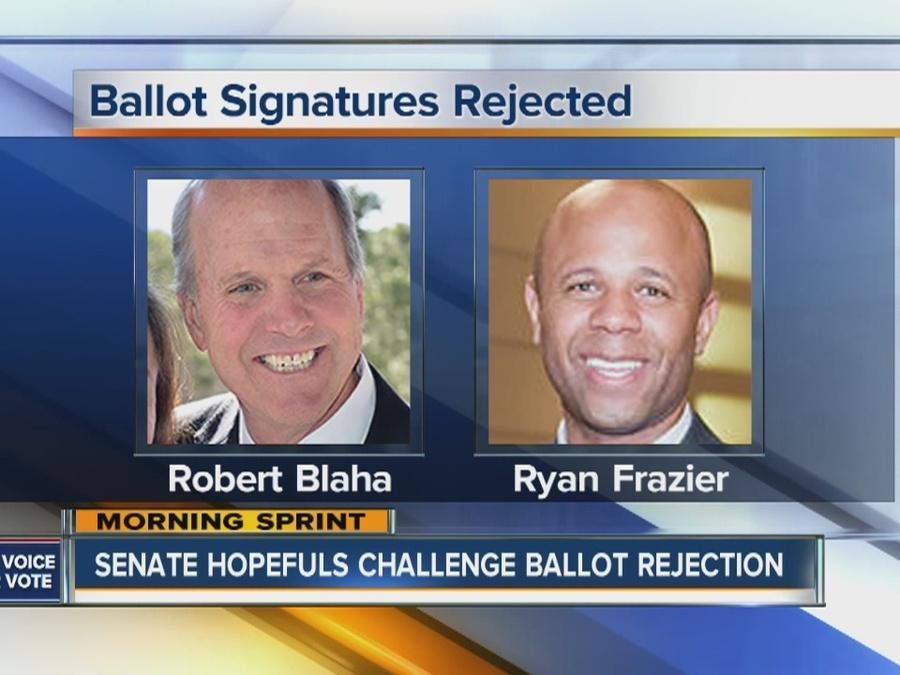 Senate hopefuls go to court to get on ballot