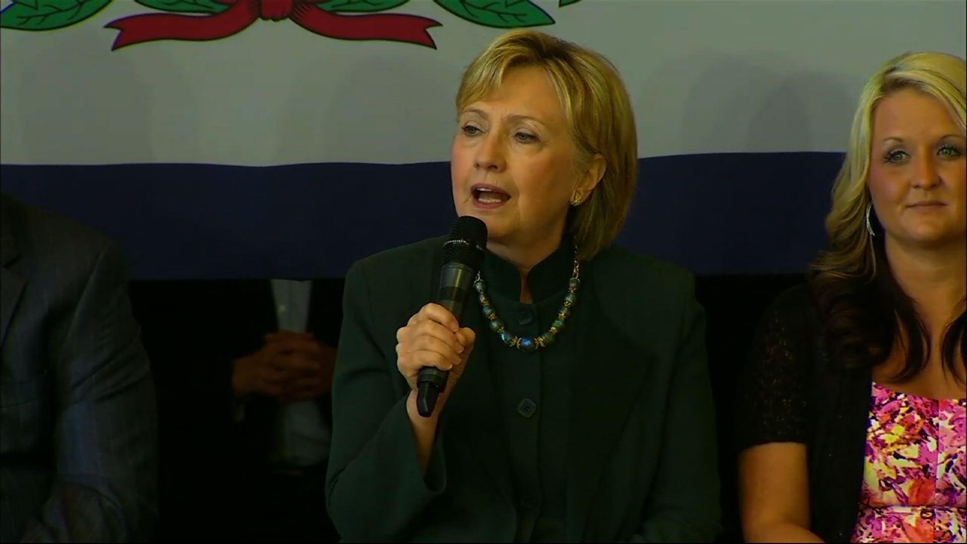 Clinton: On Opioid Epidemic,'This is Personal'