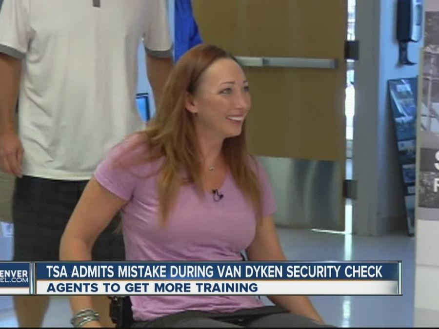 TSA admits mistake after Amy Van Dyken-Rouen said she was 'humiliated' by agent at Denver airport