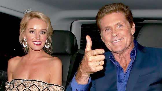 David Hasselhoff is Engaged to Hayley Roberts