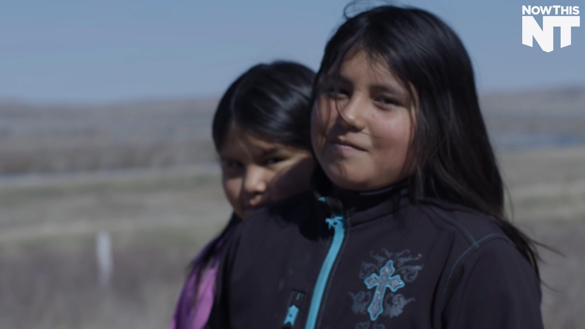 Native American Youth Are Fighting An Oil Pipeline In Their Backyard