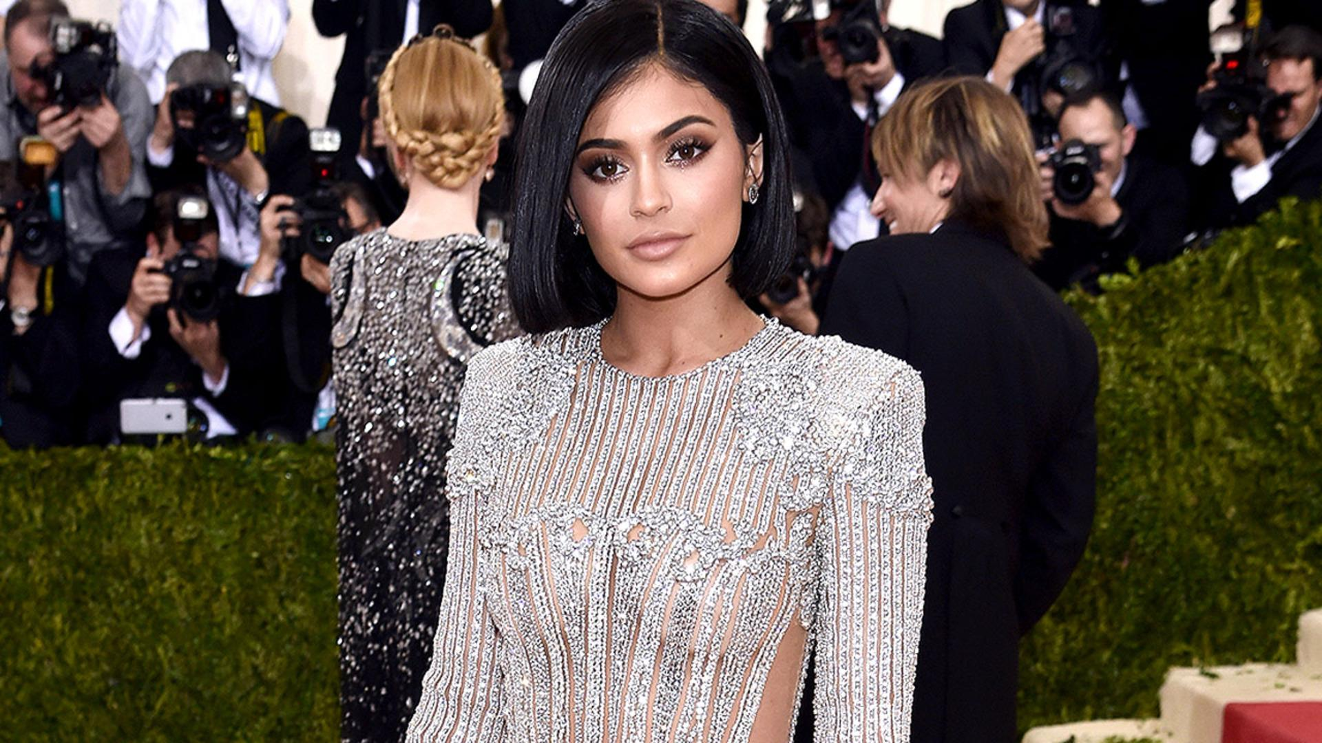 Kylie Jenner's Met Gala Gown Made Her Bleed!
