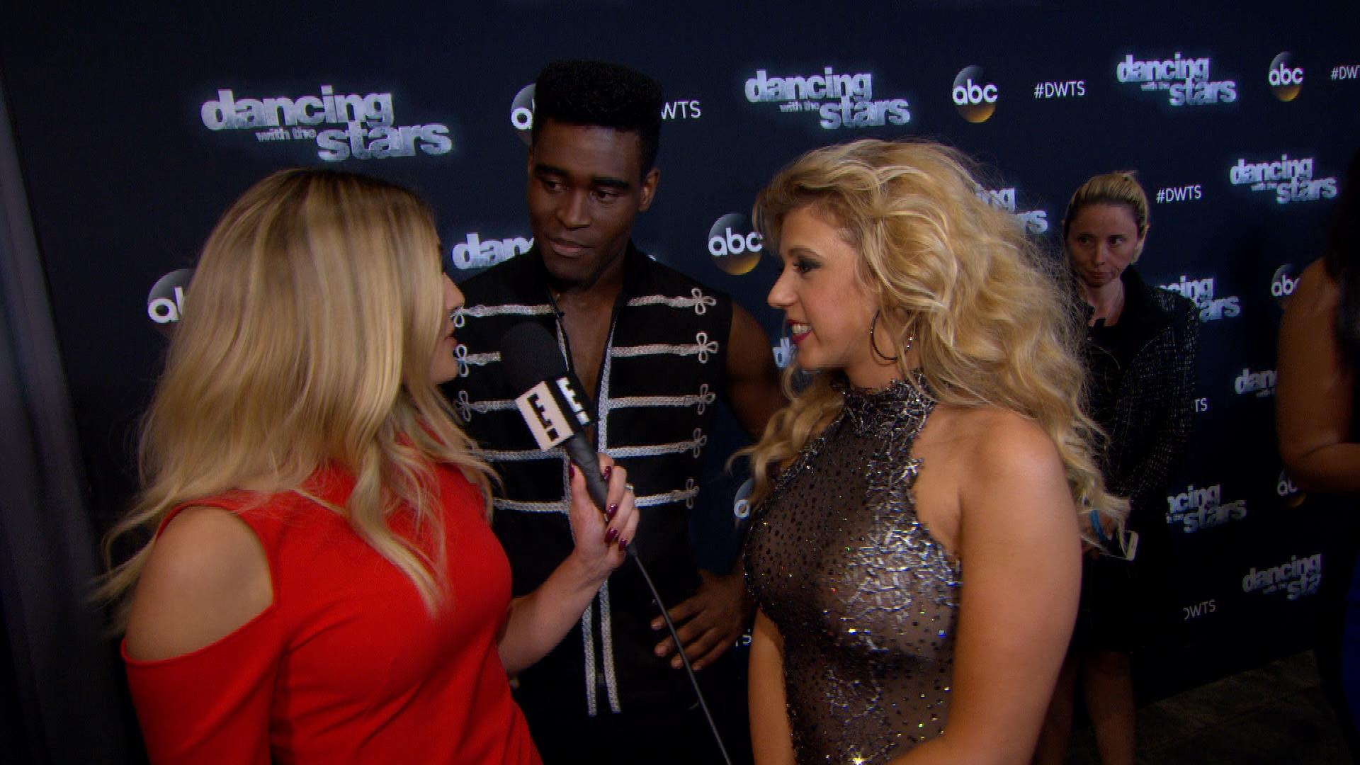 Jodie Sweetin and Keo Motsepe React to Judges' Scores