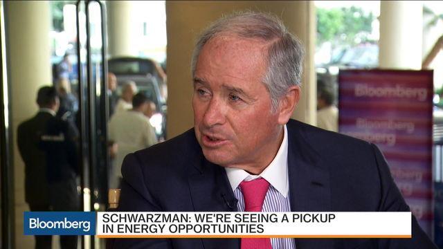 Blackstone's Schwarzman: Capital Deployment Not That Hard