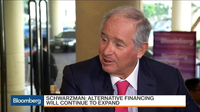 Blackstone's Schwarzman on Private Equity and Hedge Funds