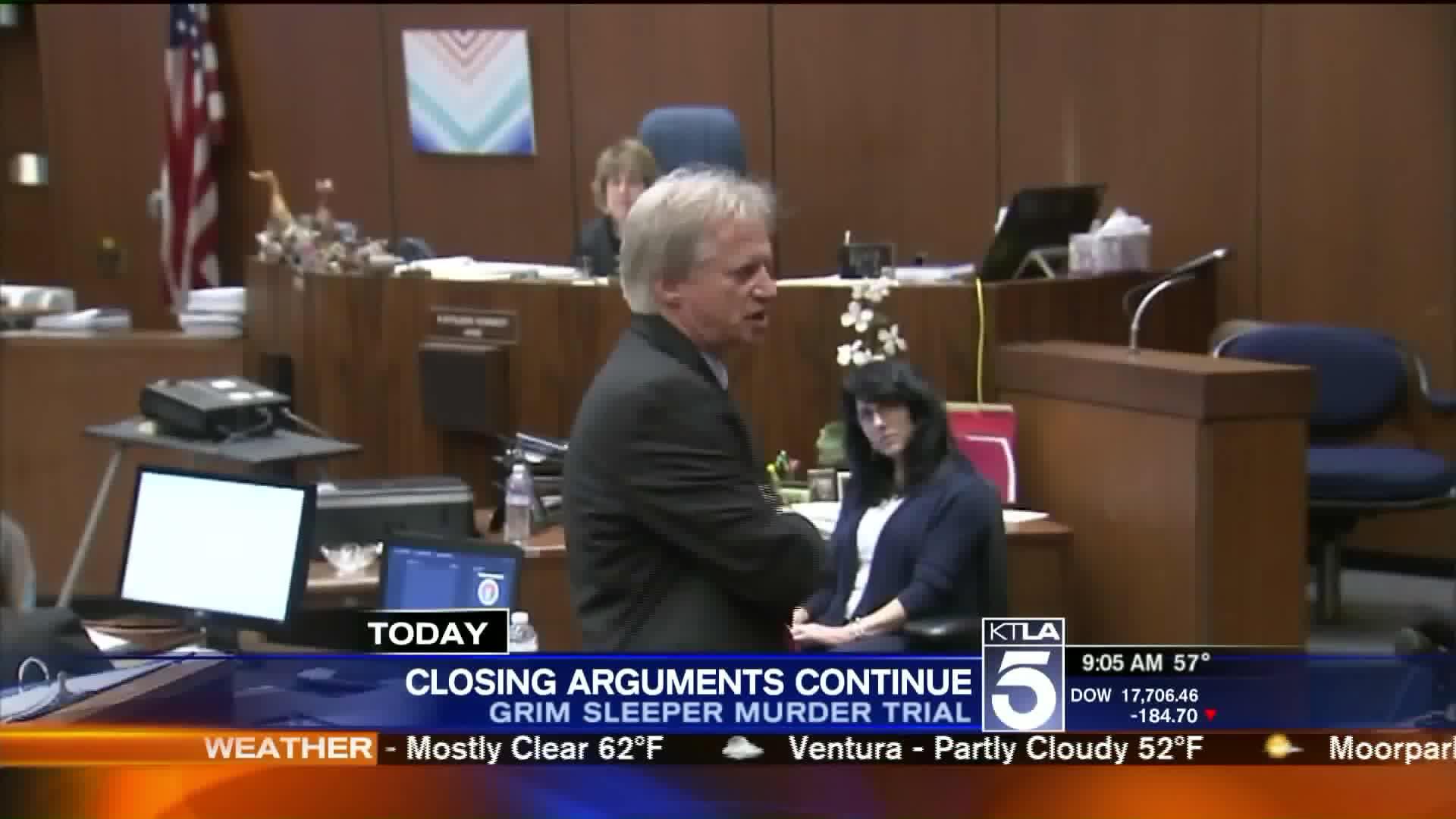 Closing Arguments Detail Brutal Killings In 'Grim Sleeper' Murder Trial