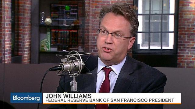 Fed's Williams: Why Rates Should Gradually Rise This Year