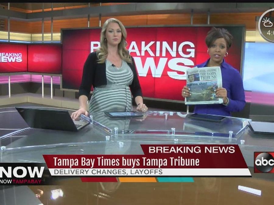 Tampa Bay Times buys Tampa Tribune